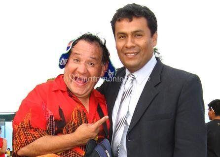 Johnny Espinoza y Willy Hurtado