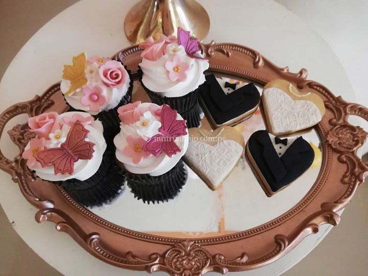 Cupcake y galetas