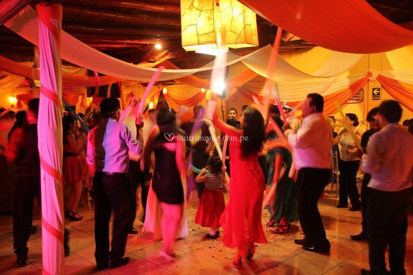 Baile y alegría