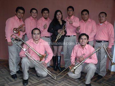 Parte de la orquesta