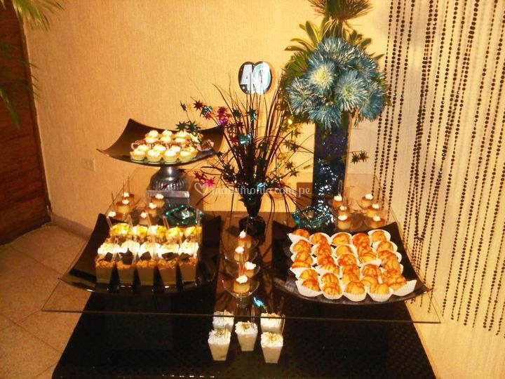 Mesa de dulces de Sweetworld
