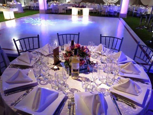 Organización de mesas
