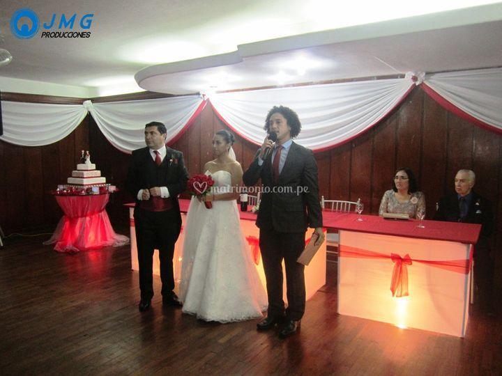 Animando un matrimonio