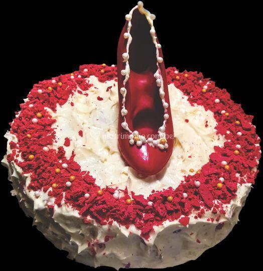 Torta de vainilla y chocolate