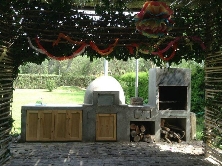Area de hornos y parrillas