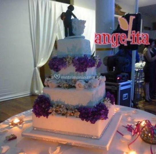 La torta de los novios
