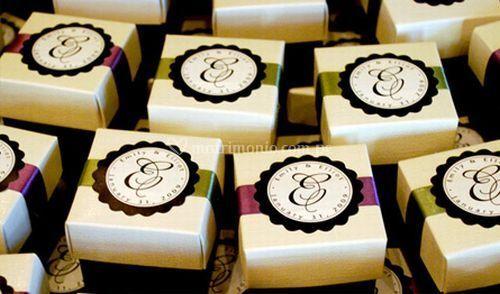Cajas decorativas para novios