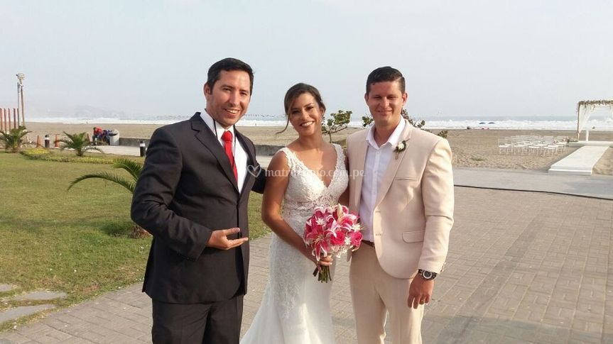 Matrimonio de ariana y klauss