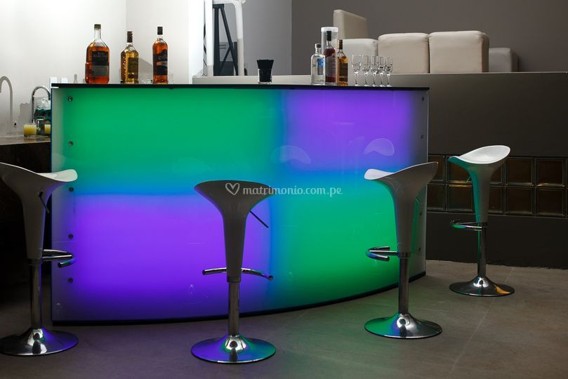 Barras LED multicolores