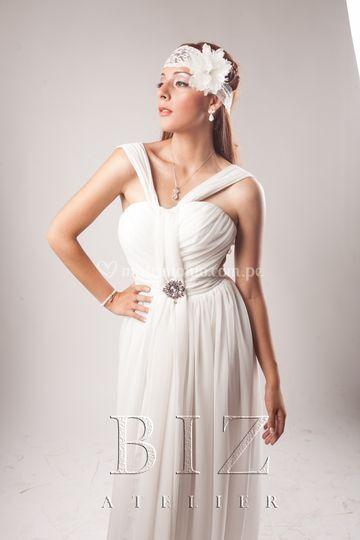 Vestido novia religioso