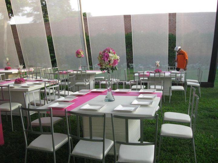 Mesas para su boda