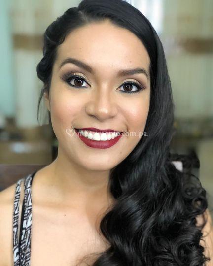 Maquillaje para sesión preboda