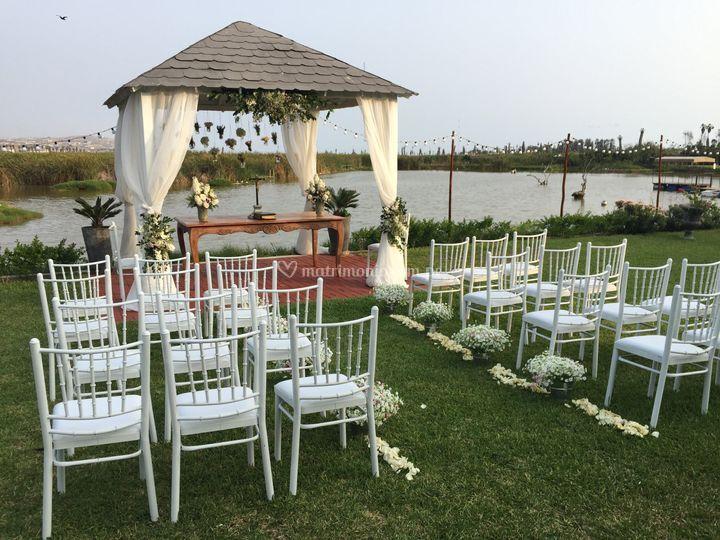 Jardín para ceremonios