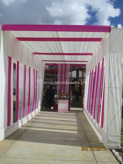 Tunel de ingreso