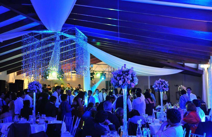 Ilumicación boda