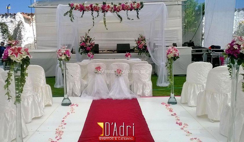 Altar para su boda