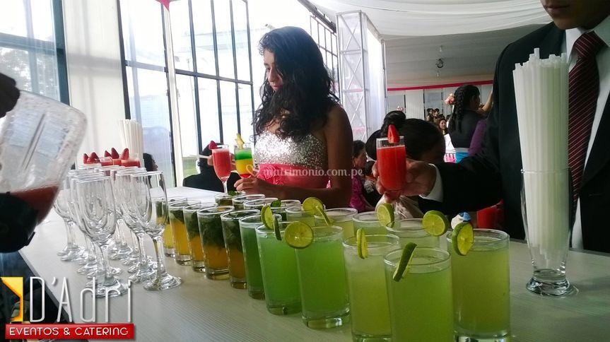 Variedades en bebidas