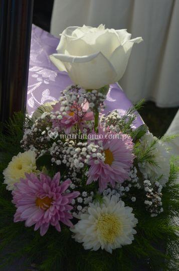 Arreglo floral de mesas
