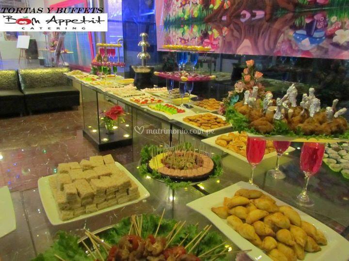 Mesa de buffet