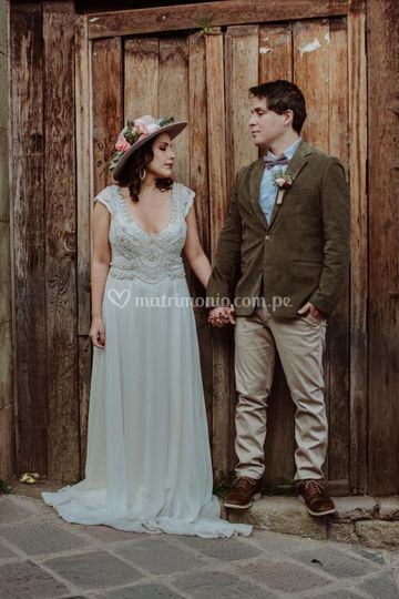 Iris y Jimmi, boda destino