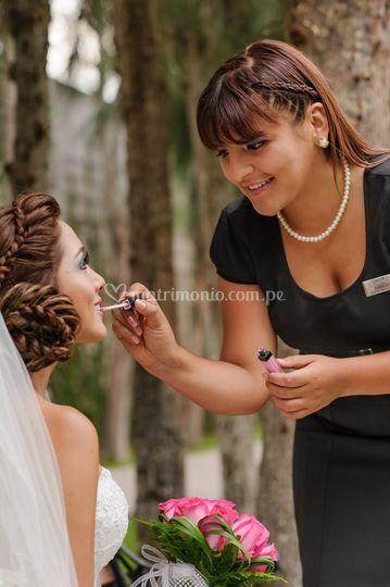 Atención a la novia