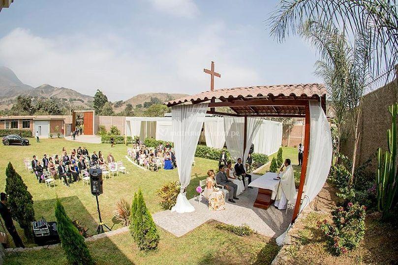 Área de ceremonia