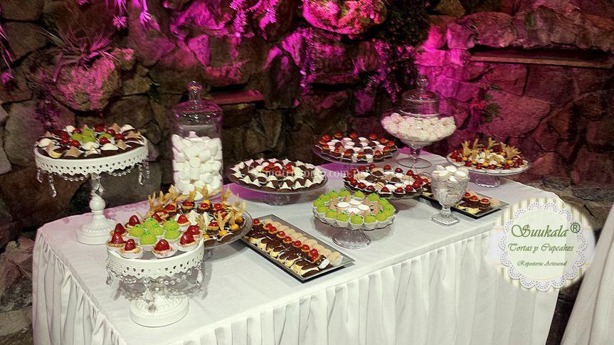 Mesa dulce 400 bocaditos