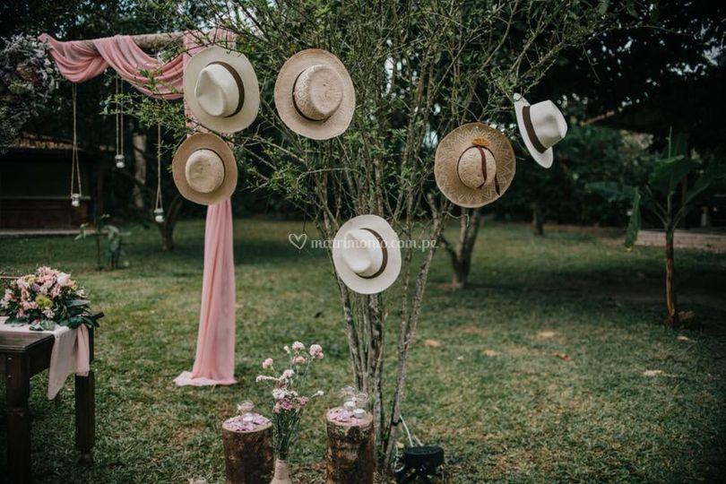 Boda de RyM - Arco boda civil