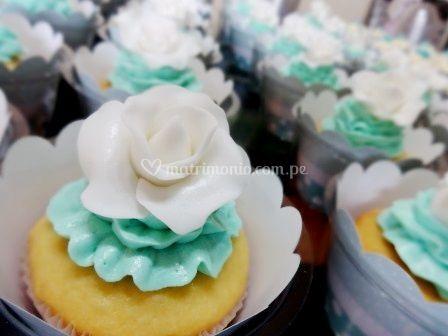 Cupcakes rose