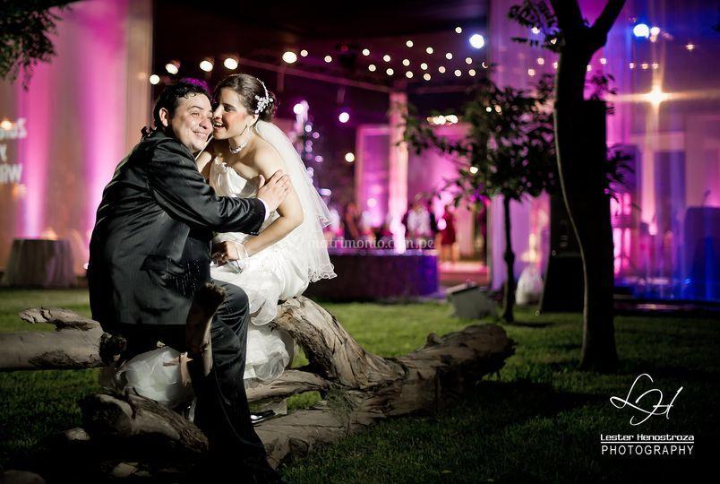 Sesión en el día de la boda