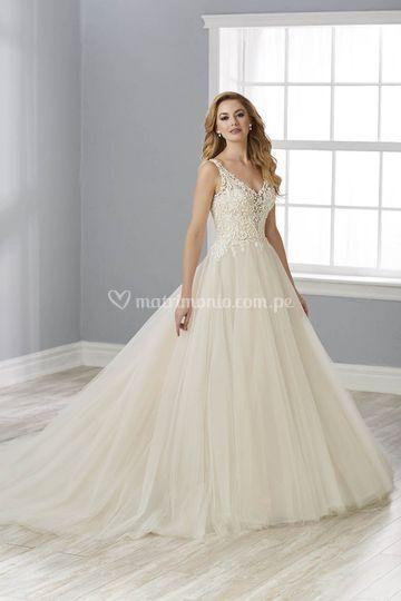 Vestido princesa 2020