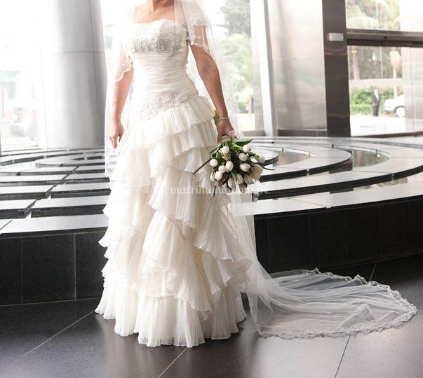 Vestido de Tatiana Solano