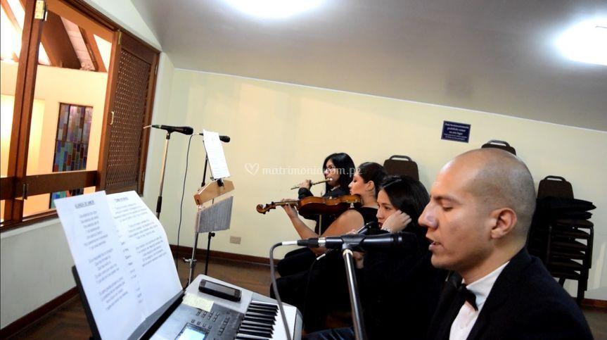 Júbilo coro y orquesta