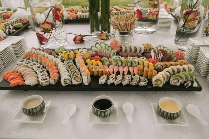 Catering japonés de Catering Pretelli