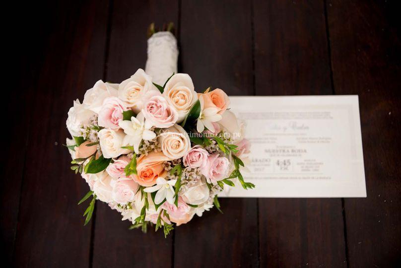 Detalles del bouquet