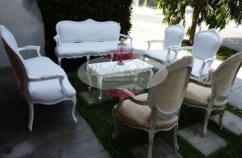 Sala Luis XV Vintage