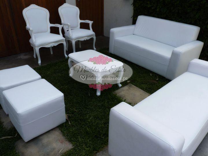 Sala lounge clásica