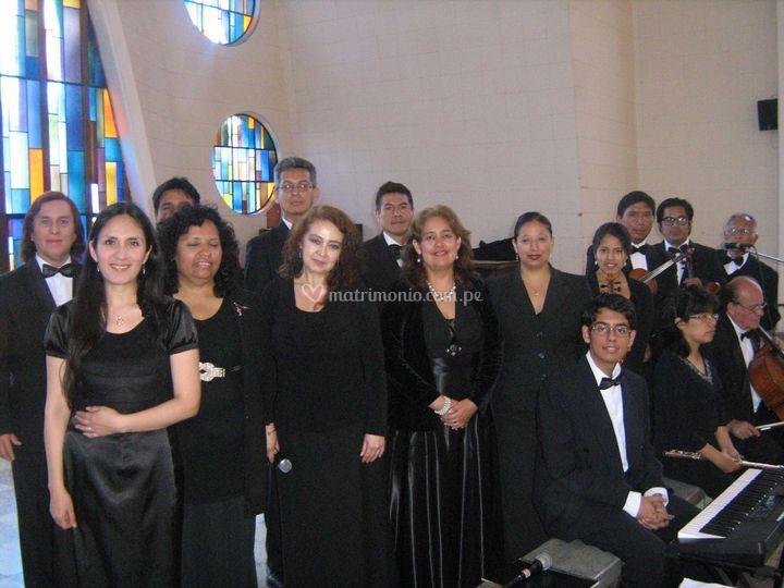 En una misa