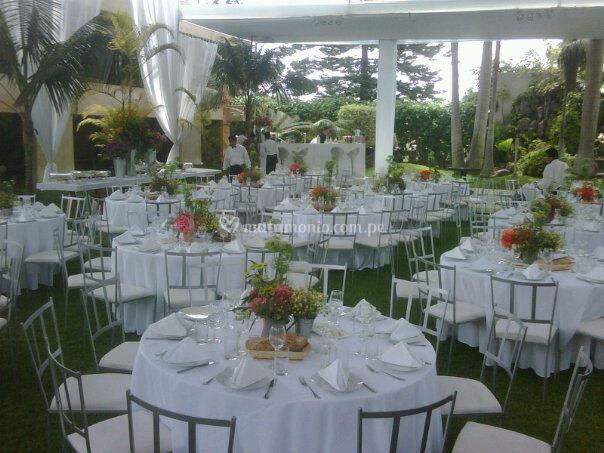 Matrimonio - cena servida