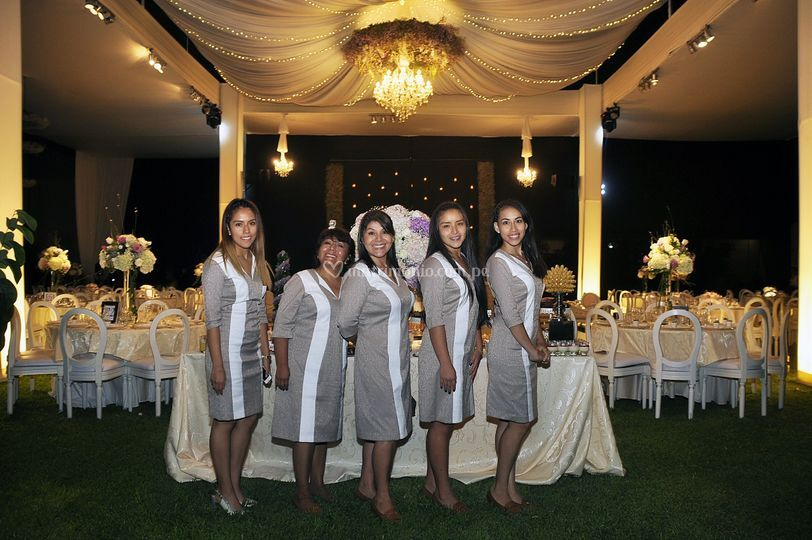 Staff de elite wedding planner