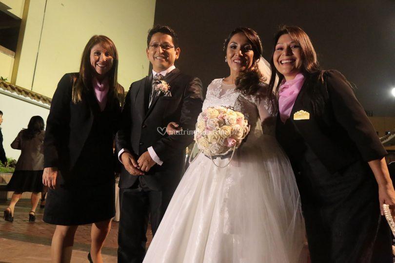 Después de la ceremonia
