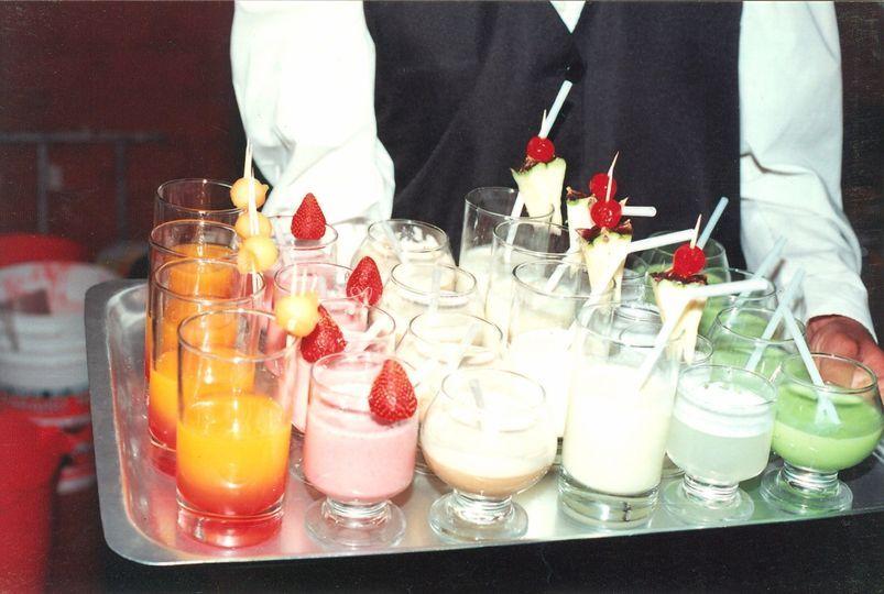 Muestra de cocktails
