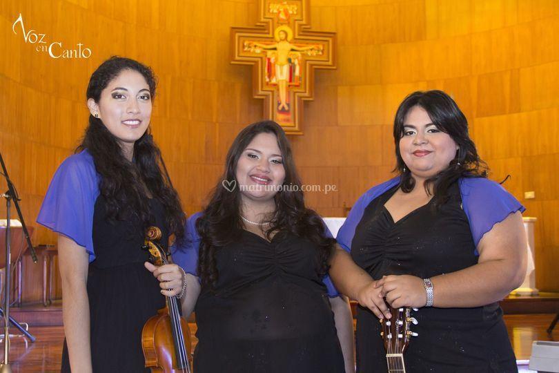 Staff de músicos