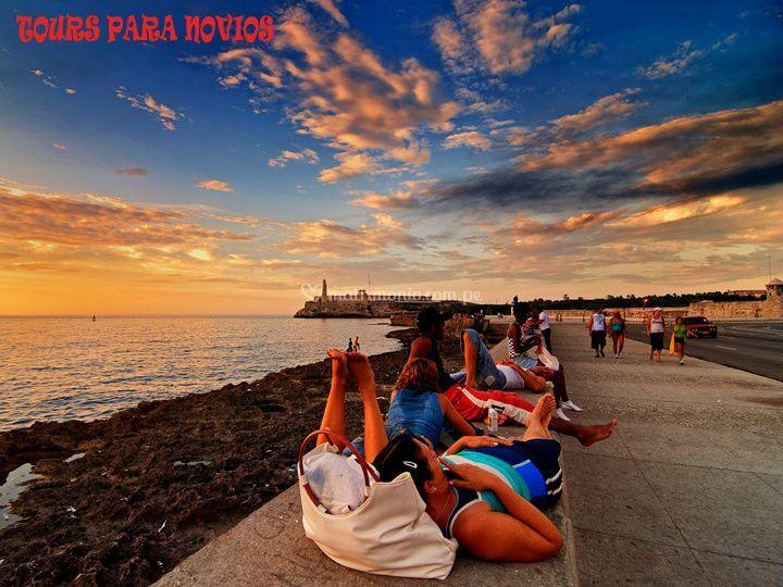 Sunset en La Habana - Cuba