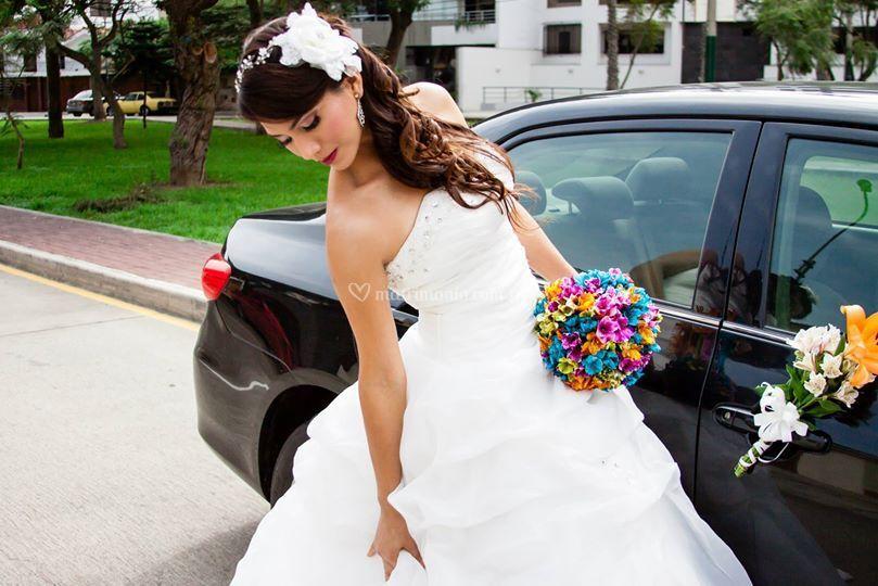 La preciosa novia