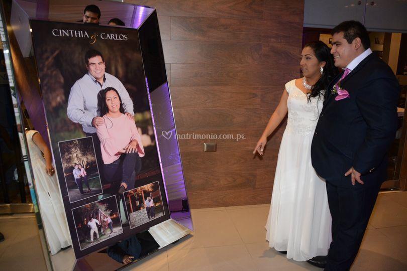 Matrimonio Carlos y Cinthia