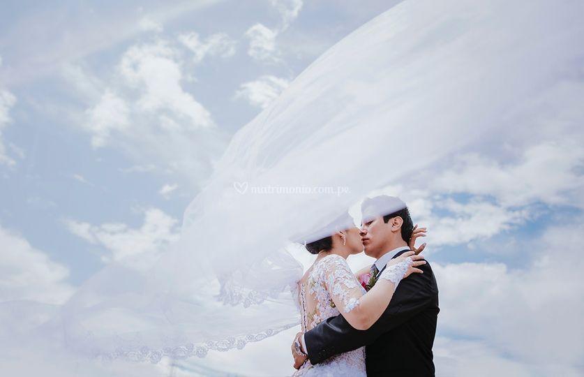 Amor en las nubes