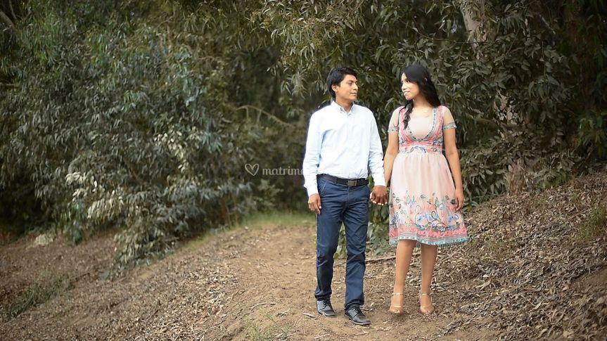 Elena y Samuel
