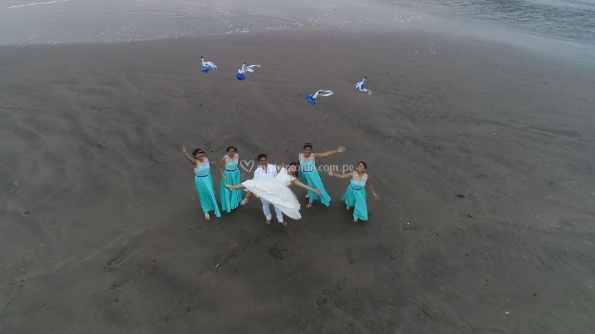 Imagen camara aérea