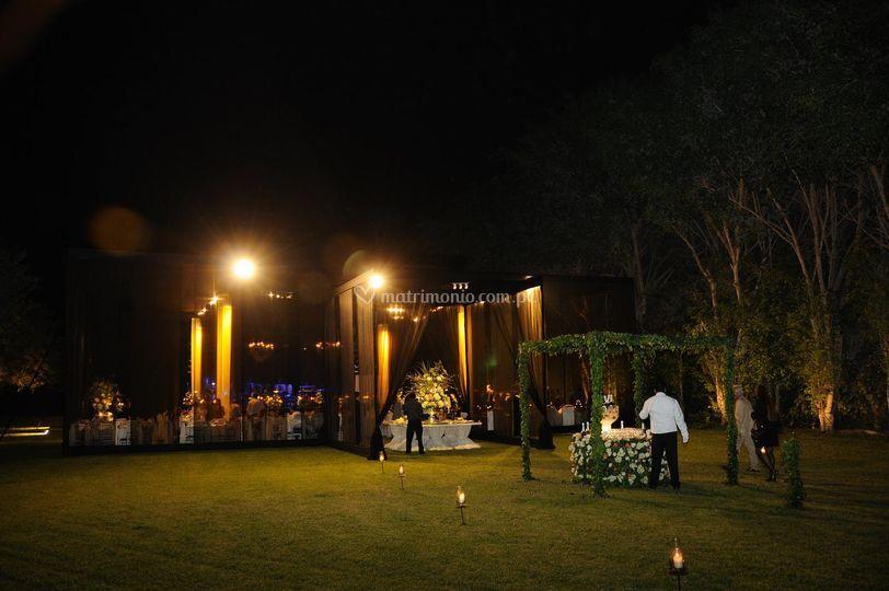 Matrimonio de noche